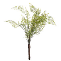 Wood Fern Green Faux Botanical