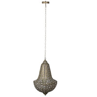 A&B Home 2660-DS Acrylic 13 inch Gold and Clear Chandelier Ceiling Light