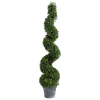 A&B Home 29287 Spiral Boxwood Green Faux Botanical photo thumbnail
