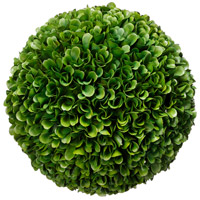 Boxwood Green Faux Botanical