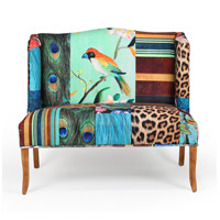 Vesta Bird Multi-Color Settee