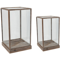 Xylon Natural Display Squares, Set of 2