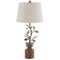 A&B Home DS34915 Hawthorn 32 inch 60 watt Bronze and White Lamp Portable Light