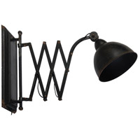 A&B Home DS35546 Arris 8 inch Black Wall Lamp Wall Light