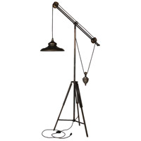 A&B Home 36913 Arris 69 inch 60 watt Dark Bronze Floor Lamp Portable Light