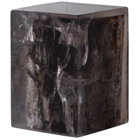 Petrified 18 inch Black Stool