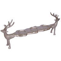 Reindeer 21 X 8 inch Votive Candle Holder