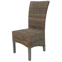 Algeria Rustic Gray Chair