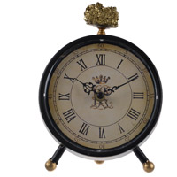 A&B Home 41828 Lavonia 8 X 7 inch Table Clock
