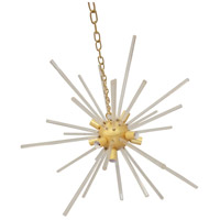 A&B Home 42171 Estrella 32 inch Gold Chandelier Ceiling Light