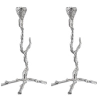 Alvada 12 X 6 inch Candle Holder, Set of 2
