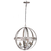 A&B Home 43291 Ordway 6 Light 24 inch Chandelier Ceiling Light