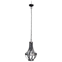 A&B Home 43293 Ordway 15 inch Antique Black Chandelier Ceiling Light