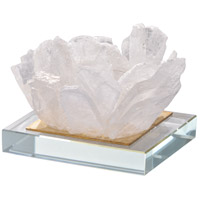 Selenite 5 X 3 inch Candle Holder