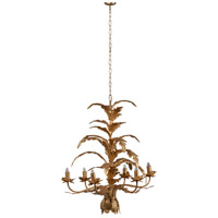 A&B Home 43463-DS Valerio 26 inch Antique Gold Chandelier Ceiling Light