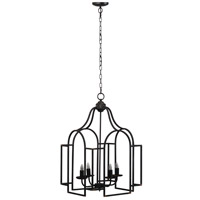 A&B Home 43467-DS Malin 17 inch Antique Black Chandelier Ceiling Light