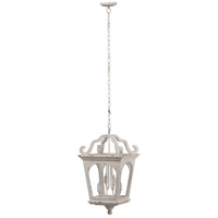 A&B Home 43471-DS Ballamy 16 inch Antique White Chandelier Ceiling Light