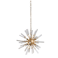 A&B Home 43589 Florrie 19 inch Gold Chandelier Ceiling Light