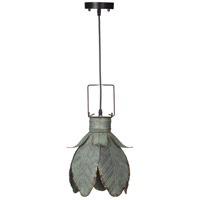 A&B Home 43638 Suvi 11 inch Aged Gray-Green Pendant Ceiling Light