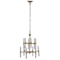A&B Home 43684-DS Idony 21 inch Gold Chandelier Ceiling Light