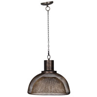 A&B Home 43738-DS Black 18 inch Black and Gold Chandelier Ceiling Light