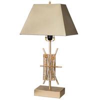 A&B Home 43945-DS Modern Chic 26 inch 60 watt Champagne Table Lamp Portable Light