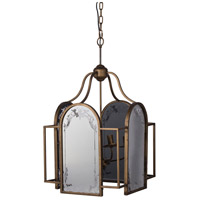 A&B Home 43950-DS Vintage Glamour 17 inch Vintage Brass Chandelier Ceiling Light