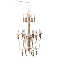 A&B Home 43959-DS Southern Living French Country 19 inch Natural Chandelier Ceiling Light