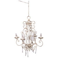 A&B Home 44022 Vintage Glamout 4 Light 20 inch Chandelier Ceiling Light