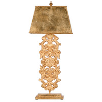 A&B Home 44036-DS Classic Vintage 33 inch 60 watt Polished Gold Table Lamp Portable Light