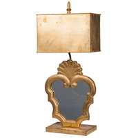 A&B Home 44038-DS Classic Vintage 29 inch 60 watt Gold Table Lamp Portable Light