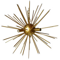 A&B Home 44099 Modern 26 inch Gold Chandelier Ceiling Light