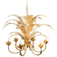 A&B Home 44100 Modern 24 inch Gold Chandelier Ceiling Light