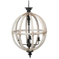 A&B Home 44506-DS Anita 4 Light 24 inch Chandelier Ceiling Light