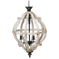 A&B Home 44508-DS Anita 4 Light 24 inch Chandelier Ceiling Light