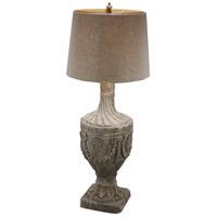 A&B Home 76940 Final 31 inch 60 watt Antique White Lamp Portable Light