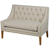 Sadie Light Oak Settee