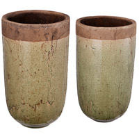 A&B Home D1526 Candia 14 inch Vase, Set of 2