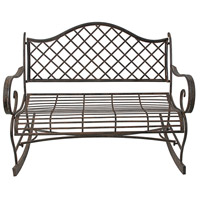 Lillian Bronze Bench