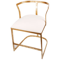 Cavendish Gold and White Chair