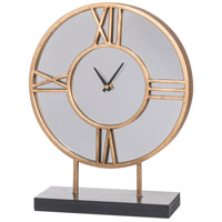 A&B Home DF43492-DS Kenzo 15 X 12 inch Table Clock