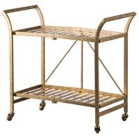 Cleo Gold Serving Cart