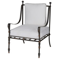 Deauville Weathered Black Arm Chair