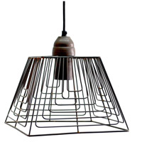 A&B Home HP40636 Florence 10 inch Natural Pendant Ceiling Light