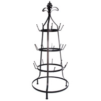 Bargello Dark Bronze Cup Rack