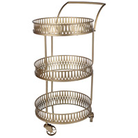 Urban Vogue Gold Bar Cart