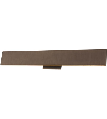 Abra Lighting 20002WV-BB Slim LED 24 inch Brushed Bronze Vanity Wall Wall Light photo thumbnail