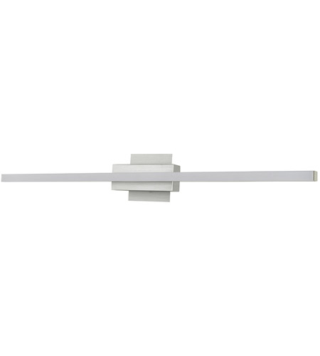 Abra Lighting 20022WV-BA Foil LED 32 inch Brushed Aluminum Vanity Light Wall Light alternative photo thumbnail