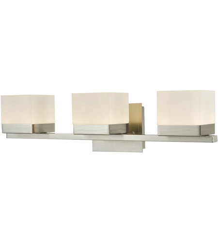 Abra Lighting 20023WV-BN Cubic LED 22 inch Brushed Nickel Vanity Wall Wall Light photo thumbnail