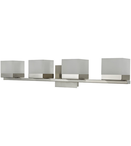 Abra Lighting 20024WV-BN Cubic LED 31 inch Brushed Nickel Vanity Wall Wall Light alternative photo thumbnail